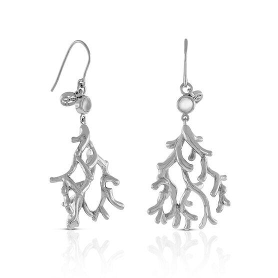 Lisa Bridge Moonstone 'Coral' Earrings