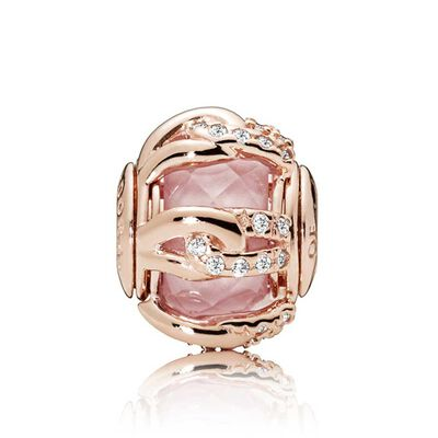 PANDORA Rose™ ESSENCE Bonds of Love Crystal & CZ Charm