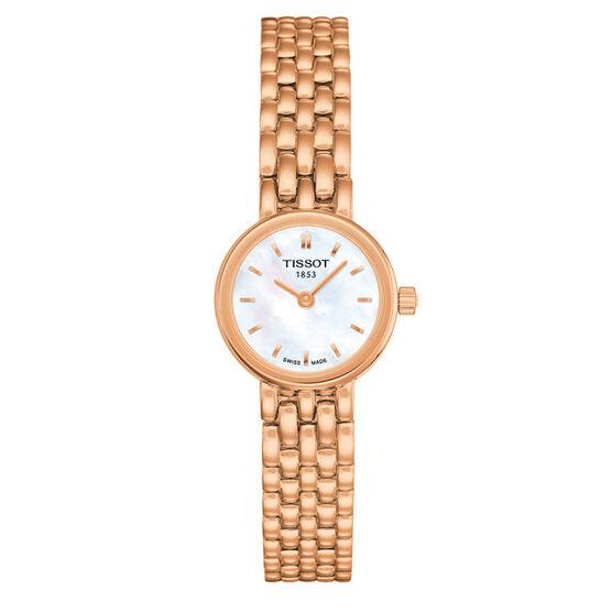 Tissot Lovely T-Lady Rose Gold PVD  Quartz Watch