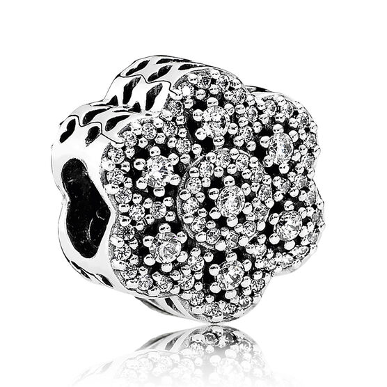 PANDORA Crystalized Floral CZ Charm