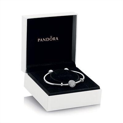 PANDORA Wintry Holiday Open Bangle Gift Set