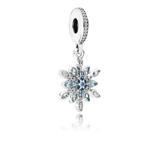 Pandora Crystalized Snowflake Charm