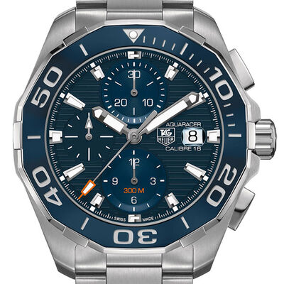 TAG Heuer Aquaracer Caliber 16 Automatic Chronograph Ceramic Watch