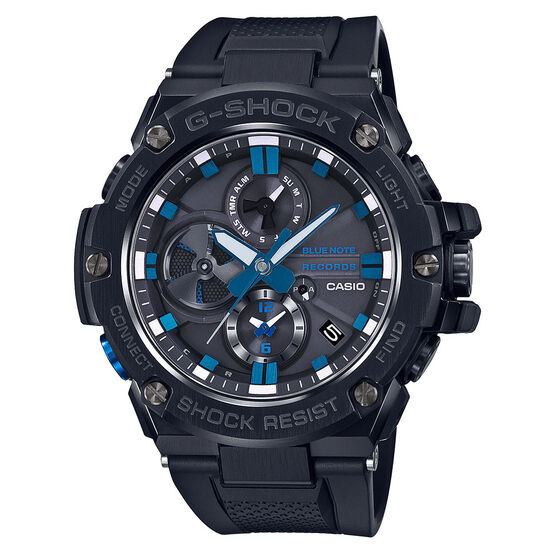 G-Shock G-Steel Connected Blue Note 80th Anniversary Bluetooth Solar Watch
