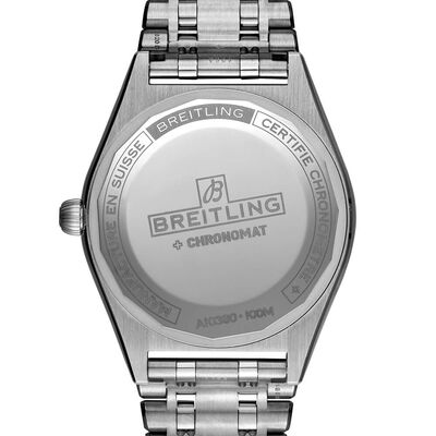 Breitling Chronomat Automatic 36 Diamond White Watch, 18K & Steel