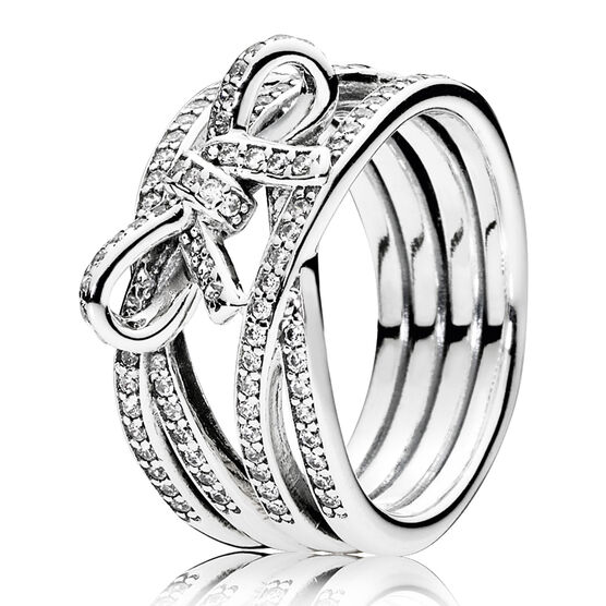 PANDORA Delicate Sentiments CZ Ring