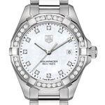 TAG Heuer Diamond Bezel Aquaracer Quartz Watch