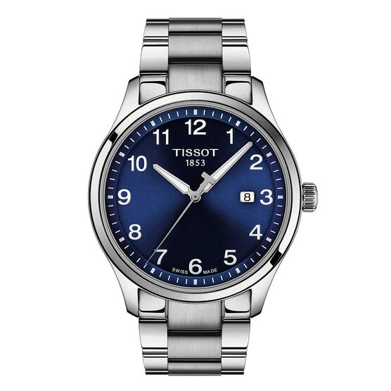 Tissot XL Blue Dial Stainless Watch, 42mm