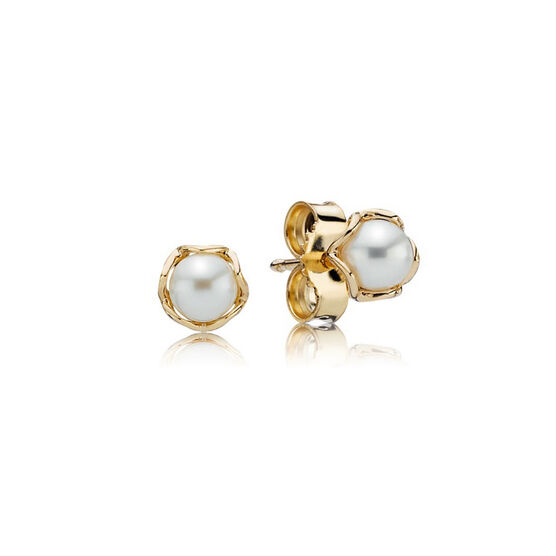 PANDORA Cultured Elegance Earrings 14K