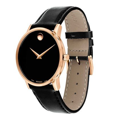 Movado Museum Classic Rose PVD Watch