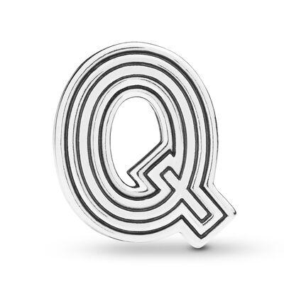 Pandora Reflexions™ Letter Q Clip Charm