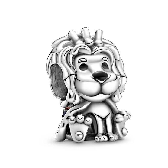 Pandora Places Wavy Union Jack Lion Enamel Charm