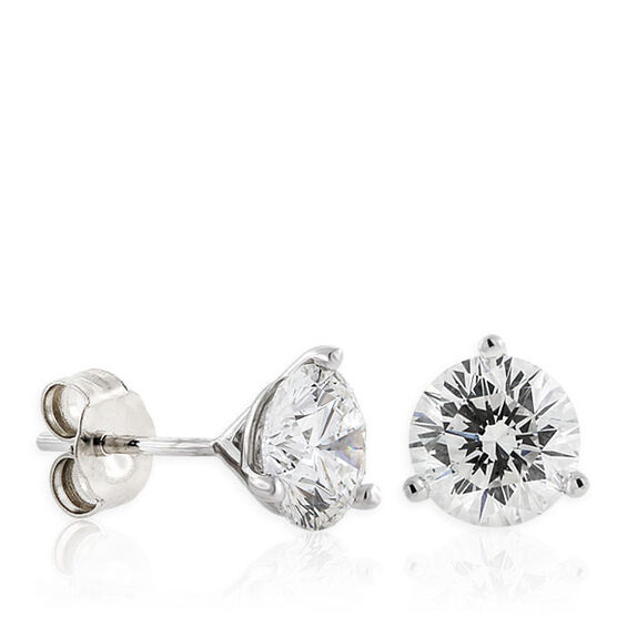 Signature Forevermark Diamond Earrings 18K, 2 ctw.