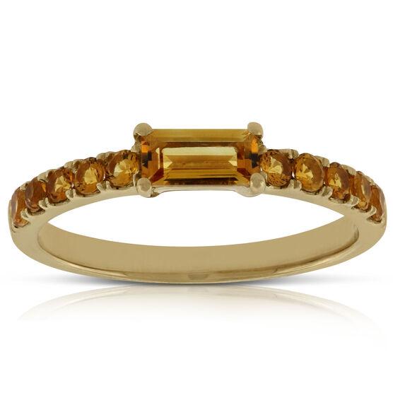 Citrine Ring 14K