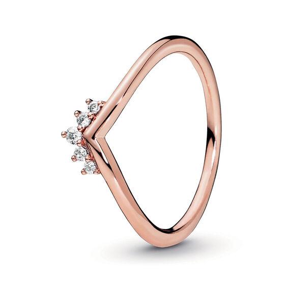 Pandora Rose™ Tiara Wishbone CZ Ring
