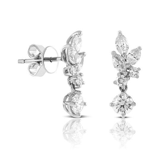 Ikuma Canadian Diamond Dangle Earrings 14K