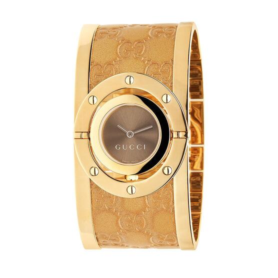 Gucci TWIRLYellow PVD Watch
