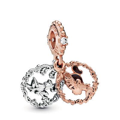 Pandora Rose™ Pandora Disney Princess Tiana Dangle Enamel & CZ Charm