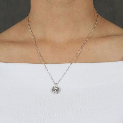 Signature Forevermark Diamond Mandala Necklace 18K