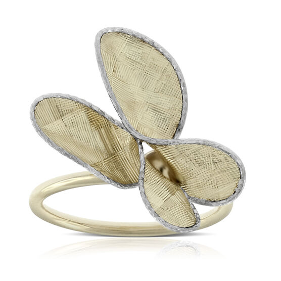 Toscano Butterfly Ring 14K