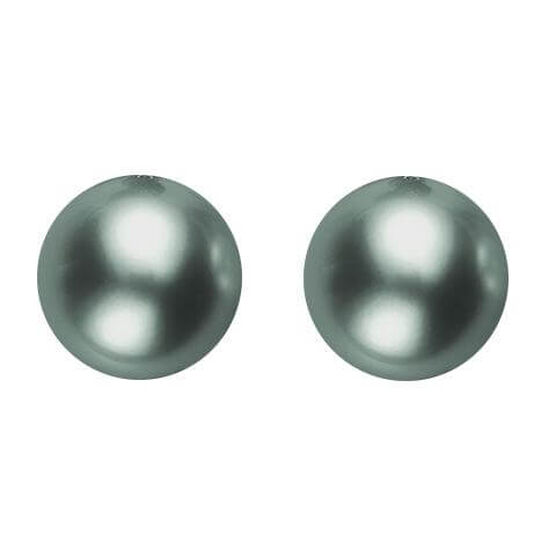 Mikimoto Black South Sea Cultured Pearl Earrings, 8mm, 18K