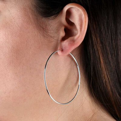 Endless Hoop Earrings 14K