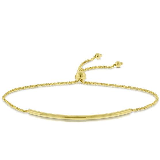Bolo Bar Bracelet 14K