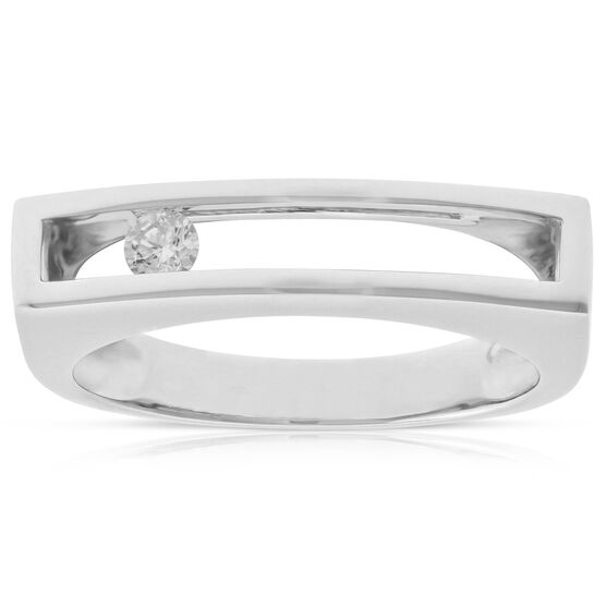 Sliding Diamond Ring 14K