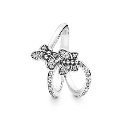 Pandora Bedazzling Butterflies CZ Ring
