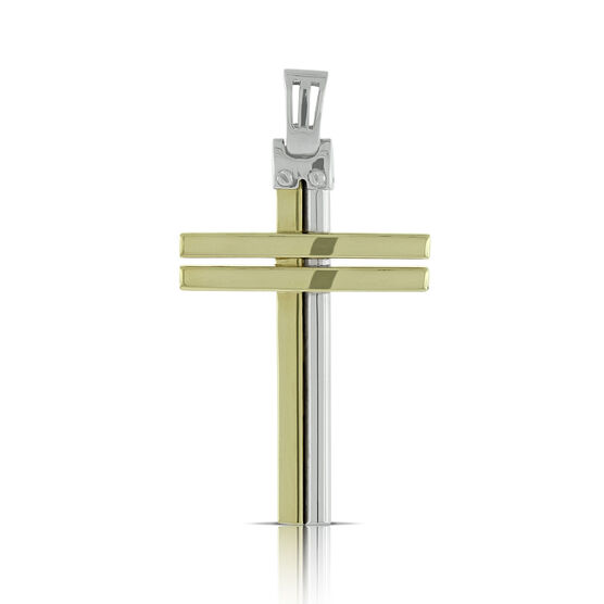 Toscano Double Cross  14K