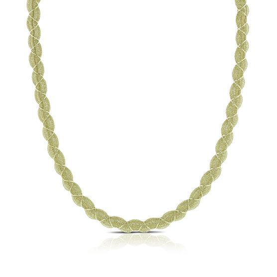 Toscano Mesh Necklace 14K