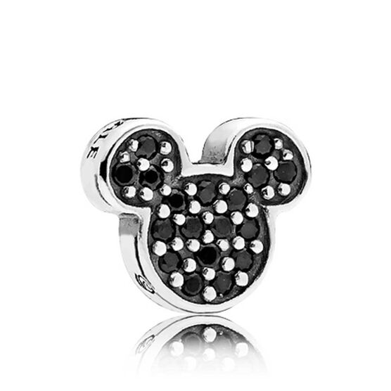 Pandora Disney, Sparkling Mickey Icon Crystal Petite Locket Charm
