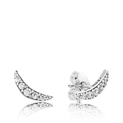 Pandora Lunar Light Cz Stud Earrings
