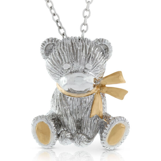 2015 Benny Bear Pendant in Sterling Silver