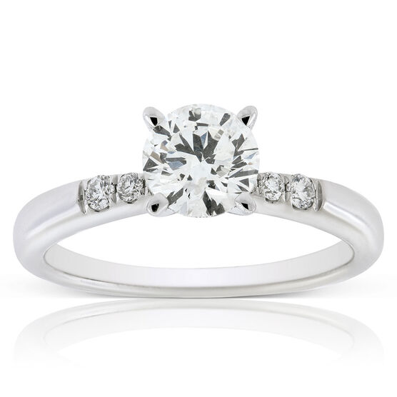 Ikuma Canadian Diamond Engagement Ring 14K