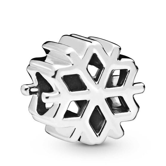 Pandora Polished Snowflake Charm