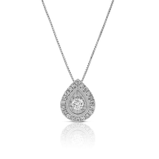 Ikuma Canadian Diamond Pendant 14K