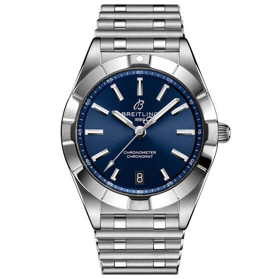 Breitling Chronomat 32 Blue Steel Watch, 32mm