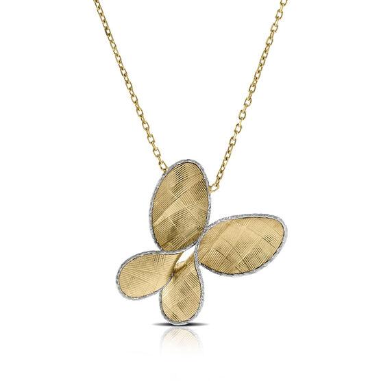 Toscano Butterfly Necklace 14K