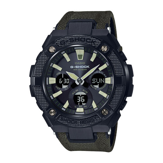 G-Shock G-Steel Black Analog Watch