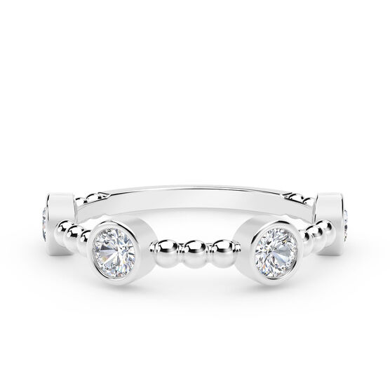 The Forevermark Tribute™ Collection Round Diamond Ring 18K