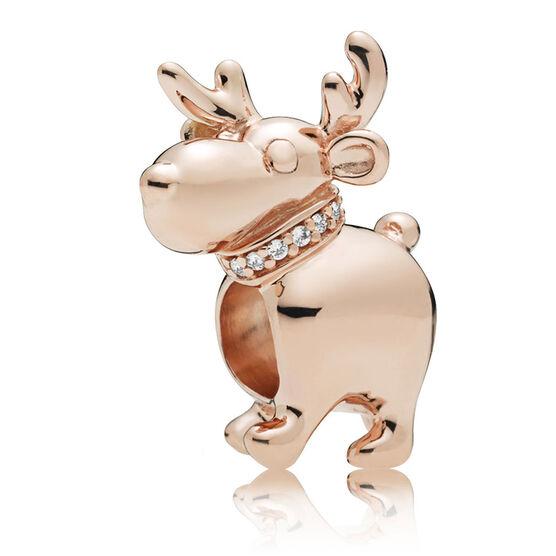 Pandora Rose™ Happy Reindeer CZ Charm