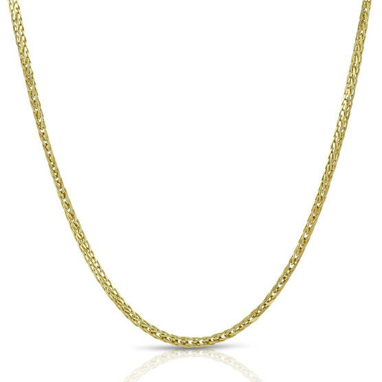 Diamond Cut Spiga Chain 14K, 24""