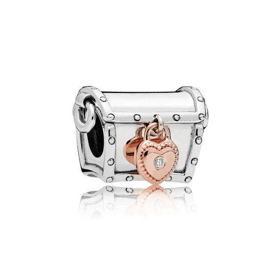 2019 PANDORA Diamond Club Charm, PANDORA Rose™ & Silver