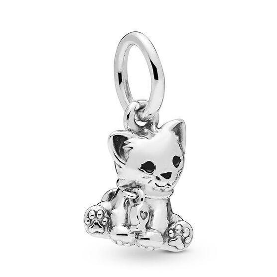 Pandora Sweet Cat Dangle Enamel Charm