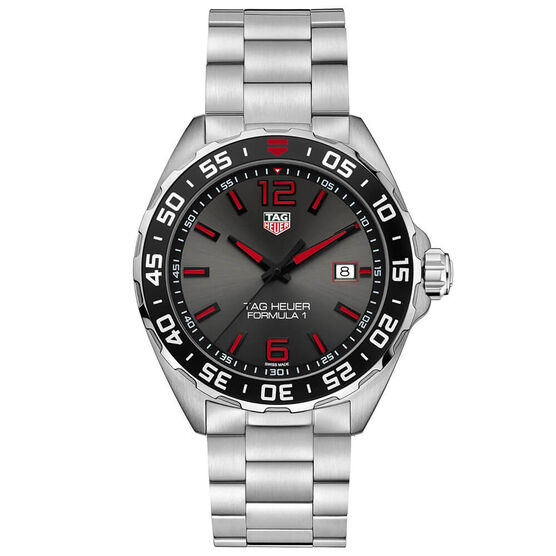 TAG Heuer Formula 1 Gray Dial Watch, 43mm