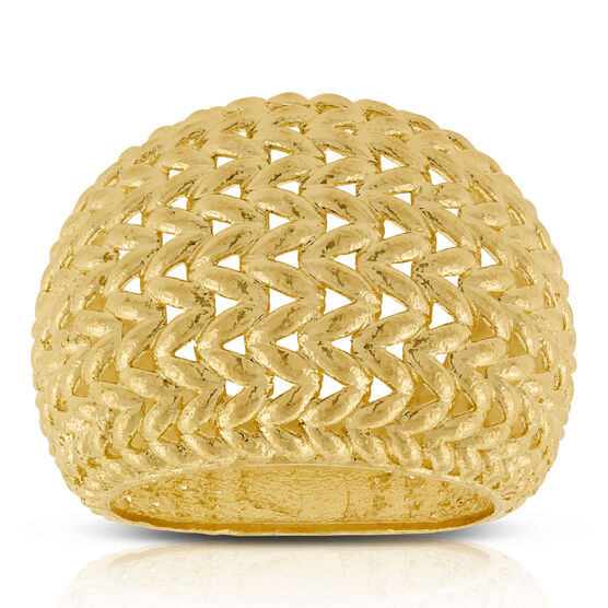 Toscano Woven Ring 14K, Size 7
