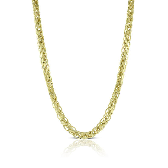 Toscano Wheat Chain 14K, 24""