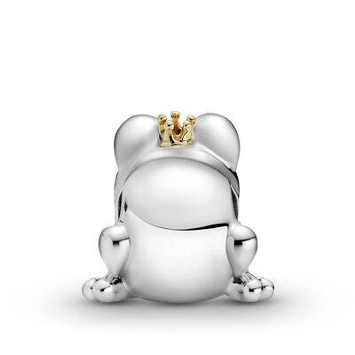 Pandora Two-tone Frog Prince Charm, 14K & Silver