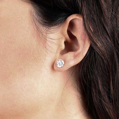Ikuma Canadian Diamond Solitaire Earrings 14K, 4 ctw.